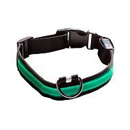 Eyenimal svietiaci obojok pre psy – zelený – XS - Obojok
