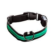 Eyenimal svítící obojek pro psy - zelený XS - XL - Obojok