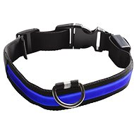 Eyenimal svietiaci obojok pre psy – modrý – M