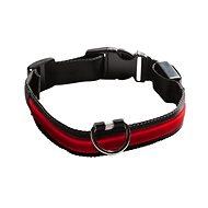 Eyenimal svítící obojek pro psy - červený - XS - XL - Obojok