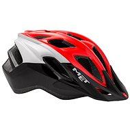 Met Fundango čierna/červená S/M 52 – 57 - Prilba na bicykel