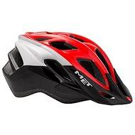 Met Fundango čierna/červená - Prilba na bicykel