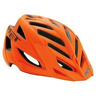 Met Terra oranžová/čierna/modrá 54 – 61 - Prilba na bicykel