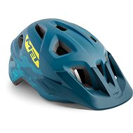 Met Eldar camo petrol modrá S/M - Prilba na bicykel
