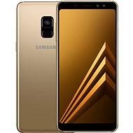 Samsung Galaxy A8 Duos zlatý - Mobilný telefón
