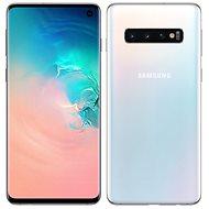 Samsung Galaxy S10 Dual SIM 128GB white - Mobile Phone