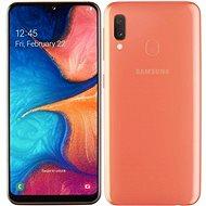Samsung Galaxy A20e Dual SIM oranžová - Mobilný telefón