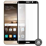 HUAWEI Mate 9 Tempered Glass protection (full COVER BLACK metalic frame) - Ochranné sklo