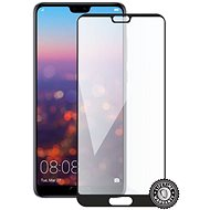 Screenshield HUAWEI P20 Pro tempered glass protection (full COVER black) na displej - Ochranné sklo