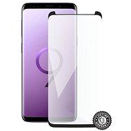 Screenshield SAMSUNG G960 Galaxy S9 Tempered Glass Protection (black CASE FRIENDLY) na displej - Ochranné sklo