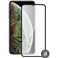 Screenshield APPLE iPhone XS Max (full COVER black) - Ochranné sklo