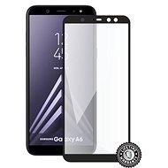 Screenshield SAMSUNG A600 Galaxy A6 (full COVER black) - Ochranné sklo