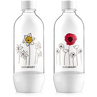 SodaStream fľaša kvetiny v zime JET 2× 1 l - Náhradná fľaša