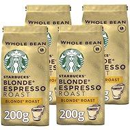 Starbucks Blonde Espresso Roast, zrnková káva, 200g 4x