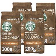 Starbucks Single-Origin Colombia, mletá jednodruhová káva, 200g 4x