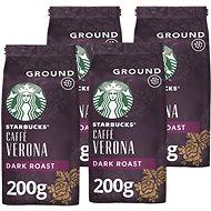 Starbucks Caffe Verona, mletá káva, 200g 4x
