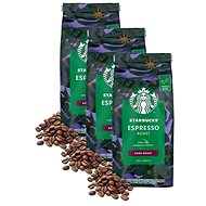 Starbucks® Espresso Roast, Coffee Beans, 450g; 3x
