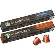 Starbucks by Nespresso Espresso Roast 10ks + Starbucks by Nespresso Single-Origin Colombia 10ks