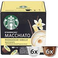 STARBUCKS® Madagascar Vanilla Latte Macchiato by NESCAFE® DOLCE GUSTO® Coffee Capsules, 6 + 6 Capsule