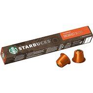 STARBUCKS® Breakfast Blend by NESPRESSO® Medium Roast Coffee Capsules, 10 Capsules per Pack, 56g