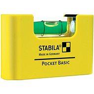 Stabilná úroveň Pocket basic clip - Vodováha
