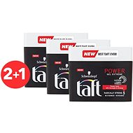 SCHWARZKOPF TAFT Power EXTREME 3× 250 ml - Gél na vlasy