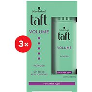 SCHWARZKOPF TAFT Volume Power 3× 10 g - Púder na vlasy