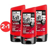 SCHWARZKOPF TAFT Looks V12 POWER Speed 3× 150 ml - Gél na vlasy