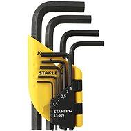 Stanley Sada zástrčných kľúčov 1,5 – 10 mm 9-dielna 1-13-929 - Sada imbusov