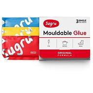 Sugru Mouldable Glue 3 pack – červené, modré, žlté - Lepidlo