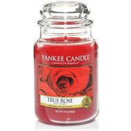 YANKEE CANDLE Classic veľká 623 g True Rose - Sviečka