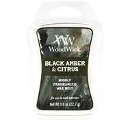 WOODWICK ARTISAN Black Amber and Citrus 22,7 g