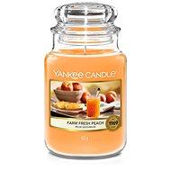 YANKEE CANDLE Farm Fresh Peach 623 g - Sviečka