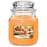 YANKEE CANDLE Farm Fresh Peach 411g