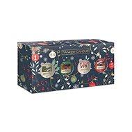 YANKEE CANDLE Vianočná darčeková súprava 4 × 49 g - Darčeková sada