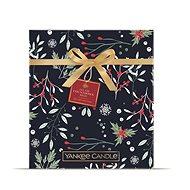 YANKEE CANDLE Vianočná darčeková súprava, adventná kniha 24 ks - Darčeková sada