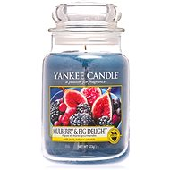YANKEE CANDLE Classic veľká Mulberry & Fig Delight 623 g - Sviečka
