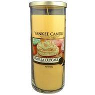 YANKEE CANDLE Décor velký 566 g Vanilla Cupcake - Sviečka