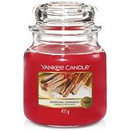 YANKEE CANDLE Classic střední 411 g Sparkling Cinnamon