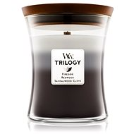 WOODWICK Trilogy Warm Woods Medium Candle 275 g - Sviečka