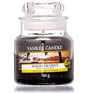 YANKEE CANDLE Classic malý Black Coconut 104 g - Sviečka