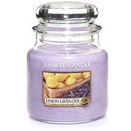 YANKEE CANDLE Classic stredná Lemon Lavender 411 g - Sviečka