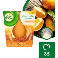 AIR WICK Essential Oils Infusion – Pomaranč a sviatočné korenie 105 g - Sviečka