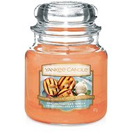 YANKEE CANDLE Classic stredná Grilled Peaches & Vanilla 411 g