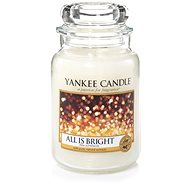 YANKEE CANDLE All is Bright 623 g - Sviečka