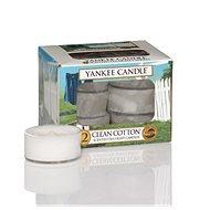 YANKEE CANDLE Clean Cotton 12 × 9,8 g - Sviečka