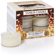 YANKEE CANDLE All is Bright 12x 9.8g - Candle