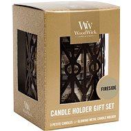 WOODWICK Set Fireside 3× 31 g - Sviečka