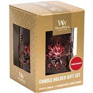 WOODWICK Set Pomegranate Bronze 3× 31 g - Sviečka