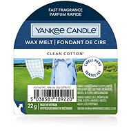 YANKEE CANDLE Clean Cotton 22 g - Vonný vosk